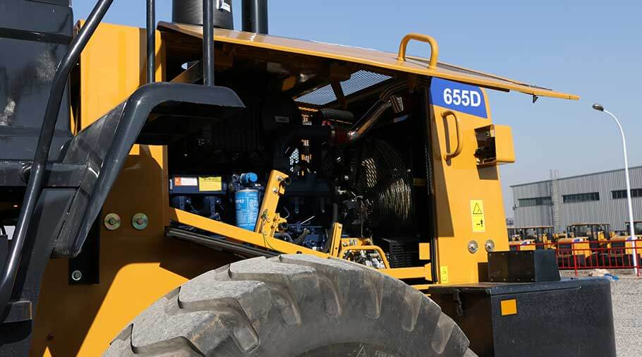 sem wheel loader 655d Engine